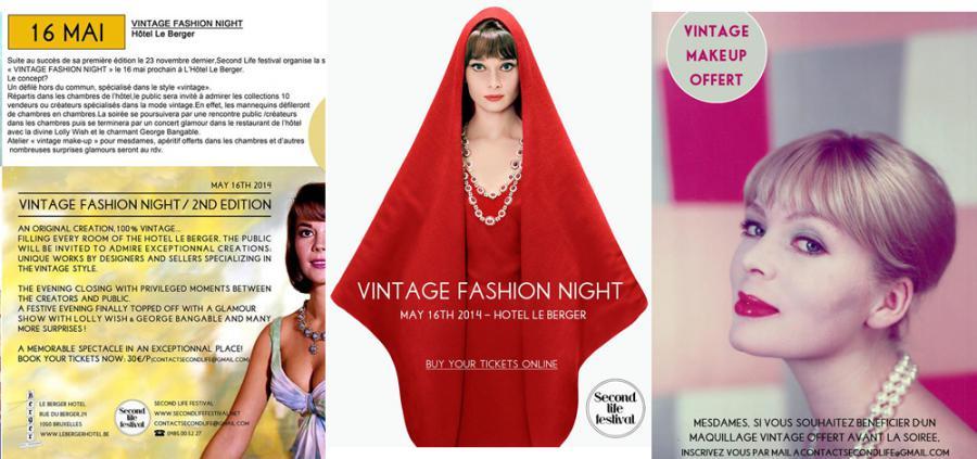 Vintage Fashion Night