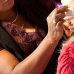 Séance de maquillage par Roselyne